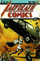 Lady Death  Apocalyptic Abyss #1 PGX 9.8 GRADED & SLABBED   Ltd. Ed.  Comic Book