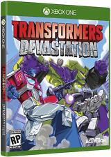 Transformers: Devastation [Microsoft Xbox One Activision Decepticons Autobots]