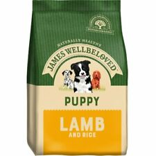 James Wellbeloved Puppy Dry Dog Food - Lamb & Rice - 15kg