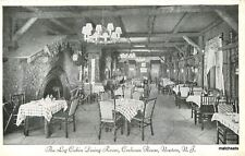 1940s Newton New Jersey Log Cabin dining Room Cochran House Interior  8678