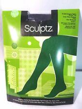 Sculptz Tights Plum (Plum Pickings) Size Medium Opaque Shaper Top NEW