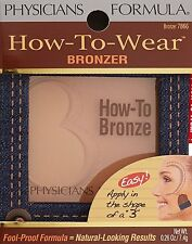 Physicians Formula How-To-Wear Bronzer, #7866 Bronzer