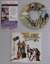 "ZZ TOP x 3 Band Hand Signed CD  + JSA COA  'BUY GENUINE"""