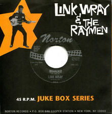 "LINK WRAY RAYMEN 'Branded' 7"" NEW mummies gories sonics bunker hill rockabilly"