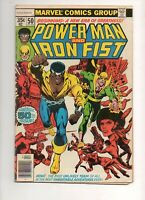 Power Man and Iron Fist #50 1ST LUKE CAGE & IRON FIST TEAM! BYRNE Netflix VF 8.0