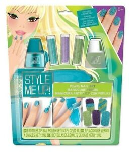 STYLE ME UP! PEARL NAIL ART GREEN & BLUE
