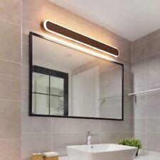 Bathroom Dresser Mirror Coffee Color Waterproof Long Wall Lamp LED Anti-fog Bath