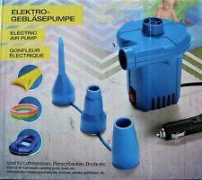 Elektrische Luftpumpe 12 V Auto Gebläsepumpe Zigarettenanzünder + 3 Adapter