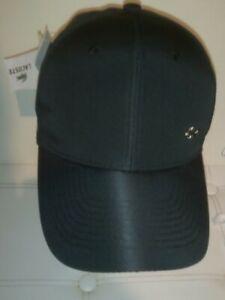 Casquette LACOSTE logo métal Baseball Cap  Lacoste Noir Neuf