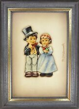 Hummel Dearly Beloved Porcelain Framed Picture NIB 2178/A NEW IN BOX