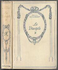 Le Disciple par Paul BOURGET Introduction T. de WYZEWA Analyse  Éditions NELSON