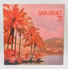 San Remo 71 LP Italy Vinyl Record