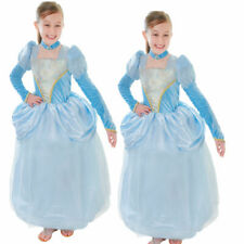 Cinderella Dress Girls Kids Cosplay Party Costume Princess Fancy Dress New