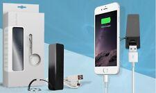 Batterie port externe PowerBank smartphone et tablette noire telephone mobile