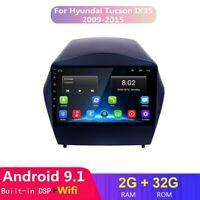 Android 9.1 Car DVD GPS Player 32g Navi Radio For Hyundai ix35 Tucson 2009-15 BT