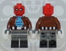 LEGO RED HOOD Custom PAD PRINTED Super Heroes DC Comics BATMAN Jason Todd