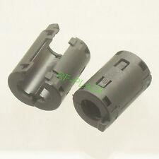 4x TDK black Φ11mm Cable Clamp Clip RFI/EMI/EMC Noise Filters Ferrite Core Case