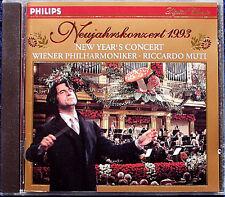 Neujahrskonzert aus Wien 1993 Riccardo MUTI CD New Year's Concert from Vienna