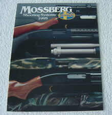 Mossberg Sporting Firearms 1995 Gun Catalog