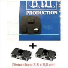 Touches télécommande clé YARIS CAMRY RAV4 COROLLA MR2 + 2 interrupteur