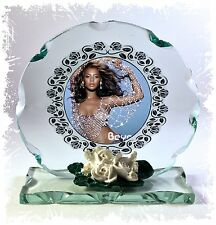 Beyonce Cut Glass Round Plaque Fan Memorabilia Limited Edition #4