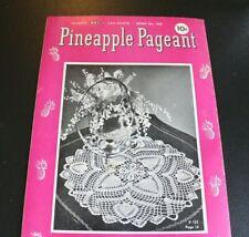 Vintage Pineapple Pageant Pattern Book 1948 J&P Clarks 10 cent No 252  -E=