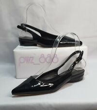 MICHAEL KORS Collection Black Patent Slingback Shoes Size 35