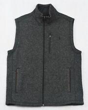 Polo Ralph Lauren Vest Fleece Mockneck Knit Full-Zip M Medium NWT $148