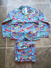 BNWT Boy's Sneakers Flannelette Winter Pyjamas Size 8