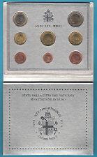 2003 8 monete FDC EURO VATICANO BU Vatican Giovanni Paolo II SET UFFICIALE ZECCA