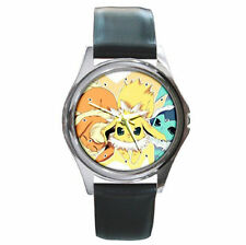 waterstone thunderstone firestone Flareon Jolteon Vaporeon  Leather wrist watch