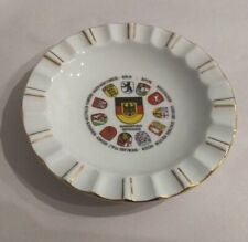 States of West Germany pre Unification. Reutter Porzellan fluted edge plate