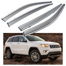 Car Window Visor Vent Shade Deflector Sun/Rain for Jeep Grand Cherokee 2011-2020