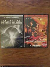 Vin Diesel Dvd 2 Pack Pitchblack/ Xxx