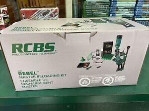 NEW RCBS Rebel Master Reloading Kit Complete  RCBS 9251 Starter Kit