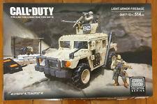 Mega Bloks Call Of Duty (COD) Light Armor Firebase 06817 - Free Shipping