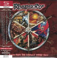 RHAPSODY - Tales From The Emerald Sword Saga Japan Mini LP SHM-CD Luca Turilli