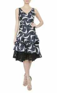 ANTHEA CRAWFORD - HERON JACQUARD DRESS