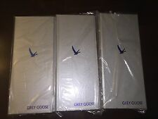 Lot Of 3 Grey Goose Bill Check Ticket Menu Presenters Books