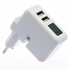 Chargeur Adaptateur prise Secteur Double USB 5V/2.1A et 1A iphone 5 6 7 plus