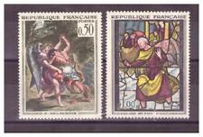 FRANCE  N ° 1376/1377    .2 VALEURS  TABLEAUX        NEUVES    **. SUPERBE