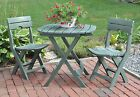 Folding Outdoor Table Chairs Set Dining Patio Furniture Bistro Cafe Garden Yard