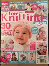 Love Knitting For Baby Adorable Patterns Blankets Designs Feb 2015 FREE SHIPPING