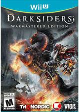 Darksiders Warmastered Edition RE-SEALED Nintendo Wii U GAME DARK SIDERS