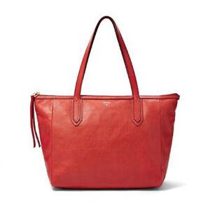 L403 - Fossil Handtasche Sydney Shopper Real Red ZB5487622    #3