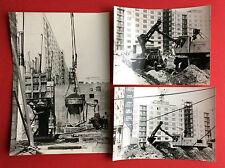 3 x Original Gross Foto DRESDEN Wohnungsbau St. Petersburger Strasse ? ( F15197