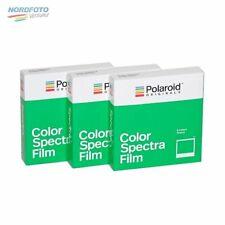 POLAROID IMAGE/Spectra COLOR Film, 3x 8 Aufnahmen für Polaroid Image Kameras