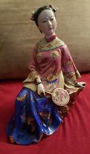 Beautiful Vintage Porcelain Geisha Girl Figurine/Statue