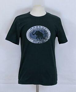 Mammut Men's Mammoth Seile Distressed Logo Short Sleeve T-Shirt Size Large
