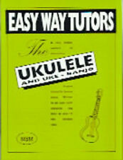 SALE NEW UKULELE AND UKE - BANJO EASY WAY TUTOR BOOK LEARN TO PLAY UKE STRINGS